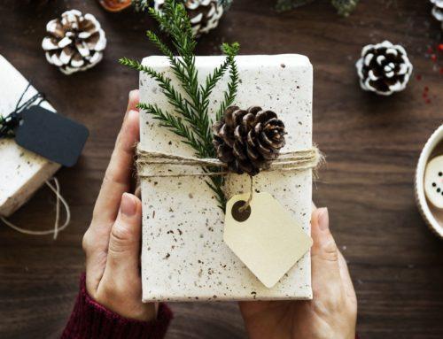 Mit weihnachtlichen Grüßen etwas Freude schenken