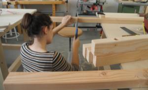 Engagement-Aktionstag in der Mitmach-Werkstatt @ Holzwerkstatt Grünstreifen e.V.