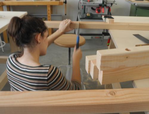 Jugendengagement-Aktionstag in der Holzwerkstatt am 13.04.
