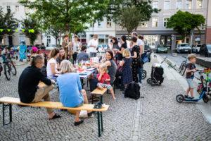 Tag der Nachbarn vor der Freiwilligenagentur @ vor der Freiwilligenagentur Magdeburg