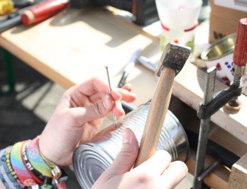 Aus Alt mach Neu – Aktionstag zum Upcycling und Herstellen von Spielen