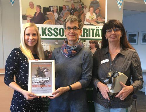 Preis zum Freiwilligentag geht an Alten- und Service-Zentrum Olvenstedt