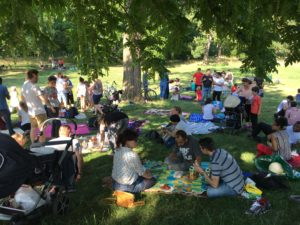 Sommer-Picknick @ Volksbad Buckau