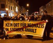 Protest gegen Nazis